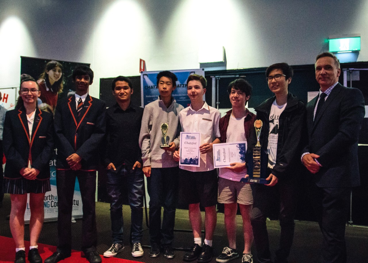 students at Hoyts cinema